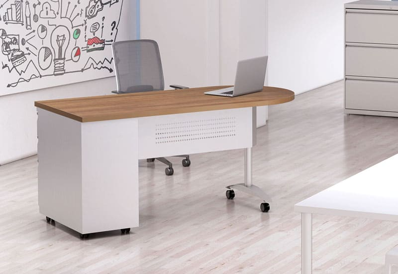 Mayline IronWorks desk