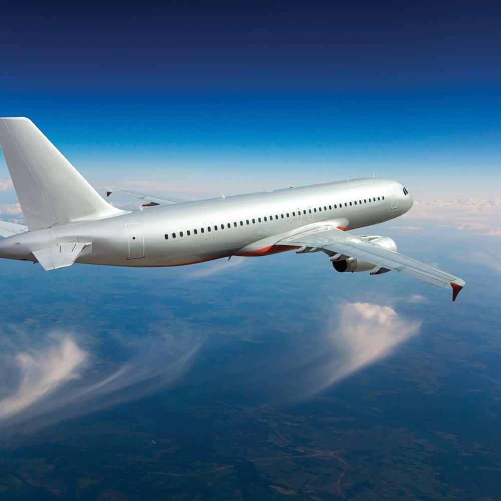Hentzen aerospace coating on commercial passenger airliner