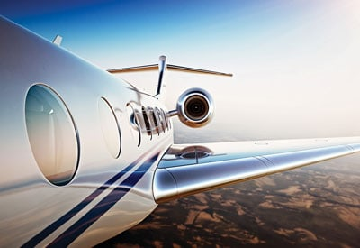 Hentzen aerospace coatings for private commercial jet