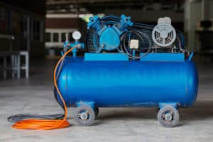Large capacity air compressor