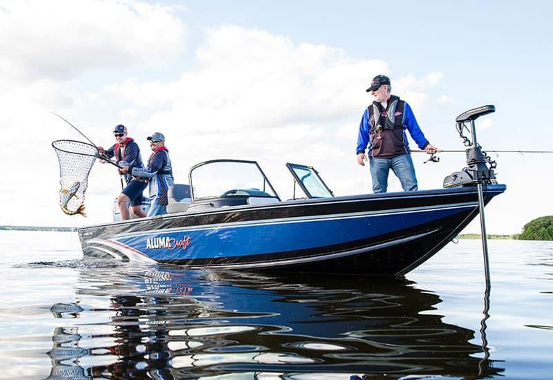 Alumacraft fishing boat