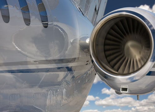 Commercial airliner engine
