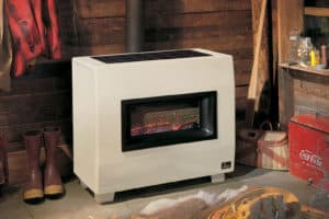 Empire visual flame heater