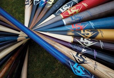 Hentzen Zen-Wood™ coating on Louisville Slugger baseball bats