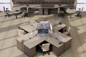 Invincible Furniture Vista modular room set