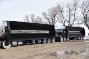 Side Dump trailers