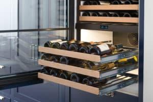 Sub-Zero wine storage