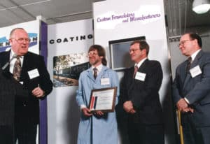 1995: Sub Supplier of the Year Award