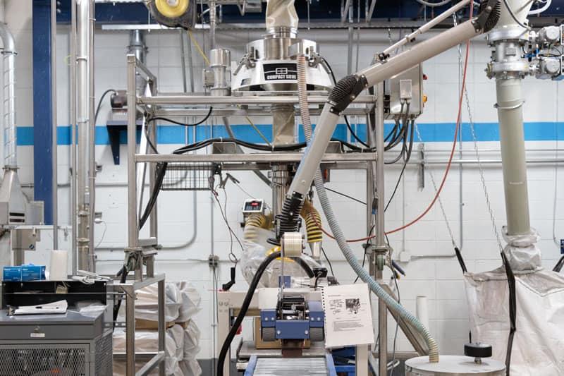 Hentzen's world-class powder coating manufacturing facility